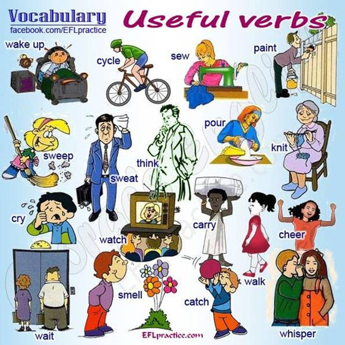 Vocabulary: Useful Verbs 3