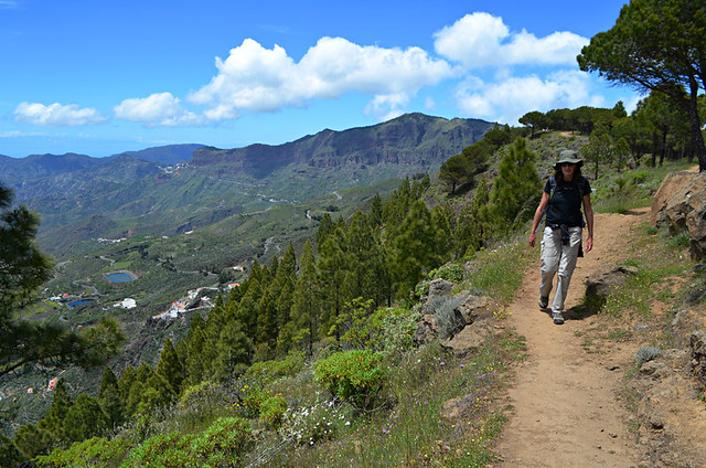 Roque Nublo route, Gran Canaria, Canary Islands