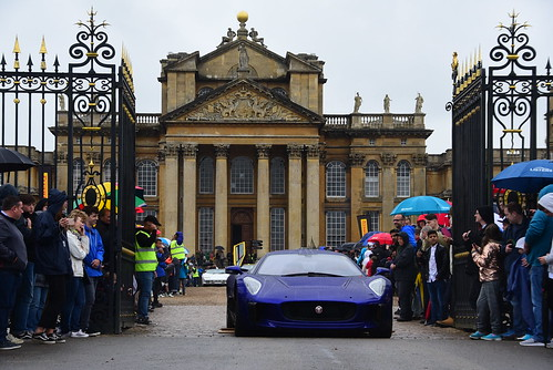 Jaguar C-X75, Blenheim Palace Classic & Supercar, Blenheim Palace 2017