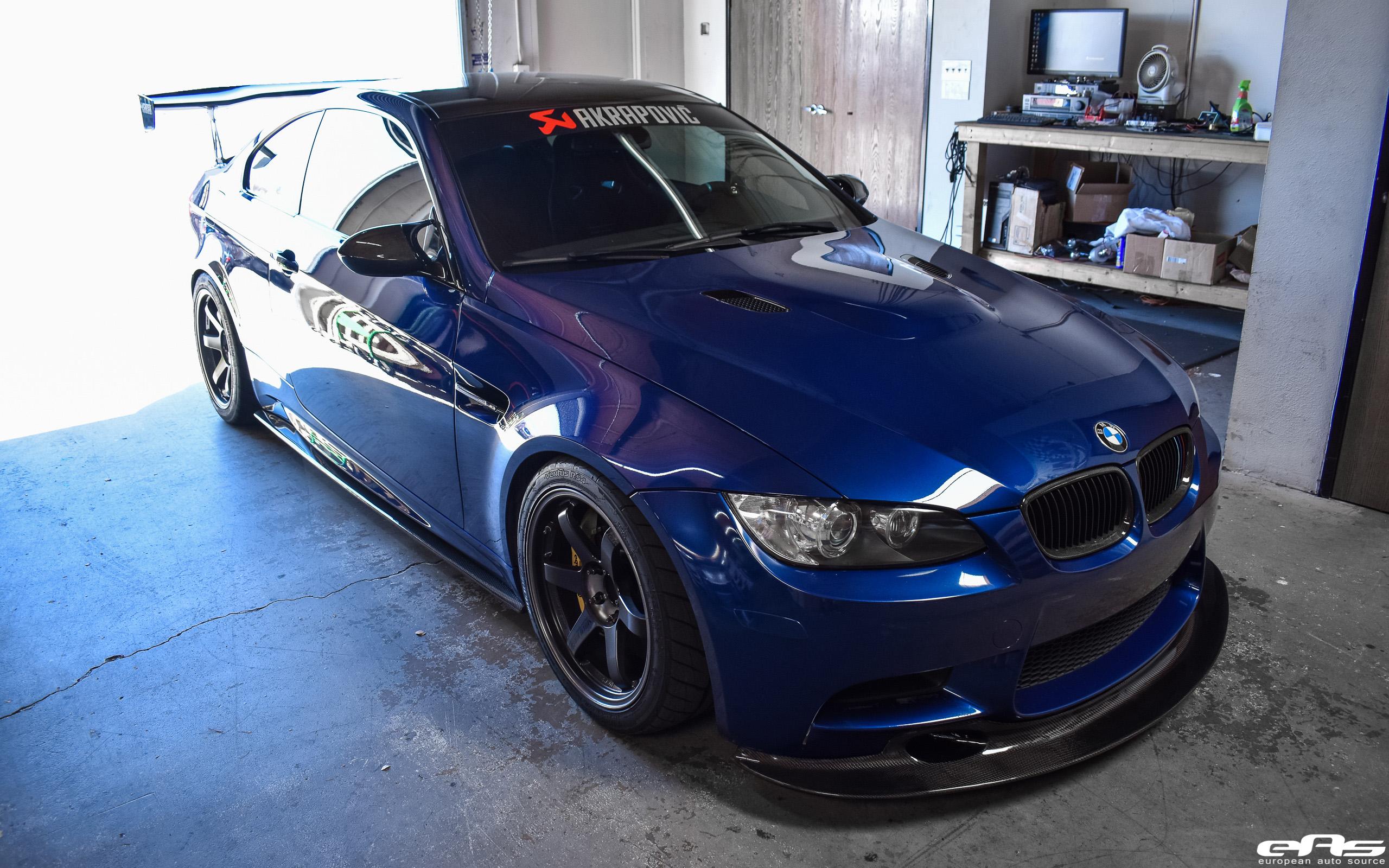 Le Mans Blue E92 M3 Jdm Style Bmw Performance Parts Services