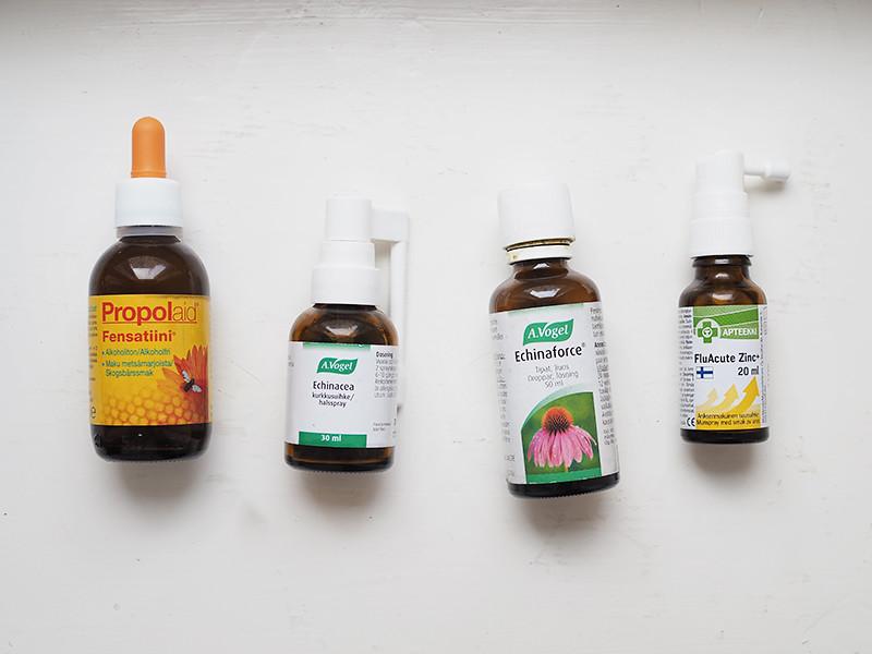 Flunssan torjunta