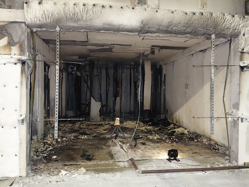 Results of a fire-resistant CLT building
