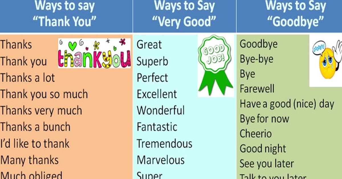 Forum other ways to say fluent land How to say goodbye in romanian