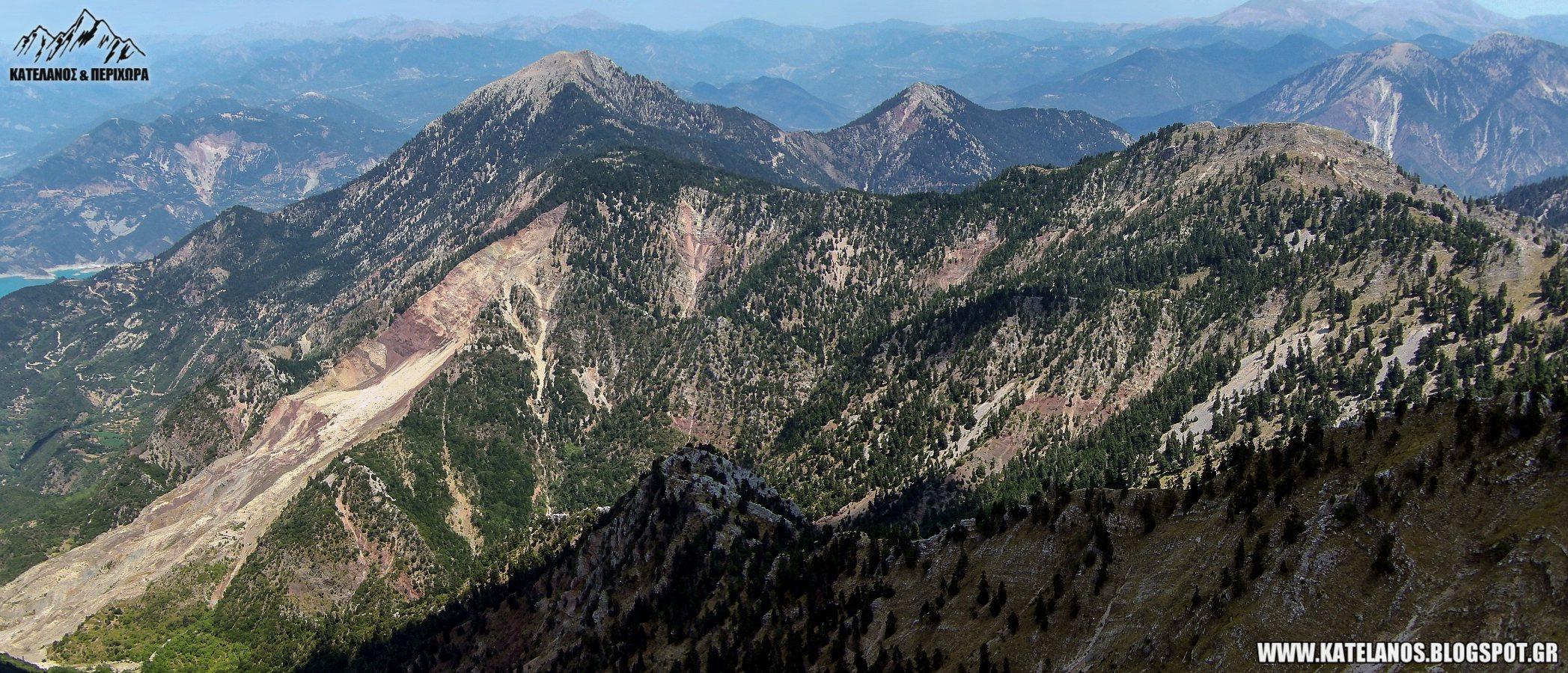 βουνα χουνης αιτωλοακαρνανιας φρυας τσοκα κατολισθηση παλιοχουνη