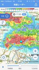 夕立で雨宿り 2017.8.19
