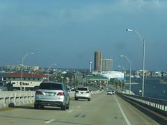 Arriving at Pensacola Beach