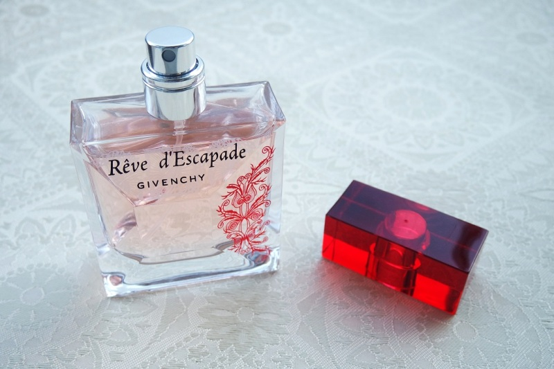 Givenchy Reve d'Escapade in happier days