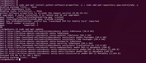PHP-Ubuntu
