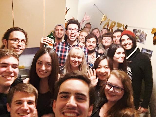 Fiesta Erasmus en Rovaniemi