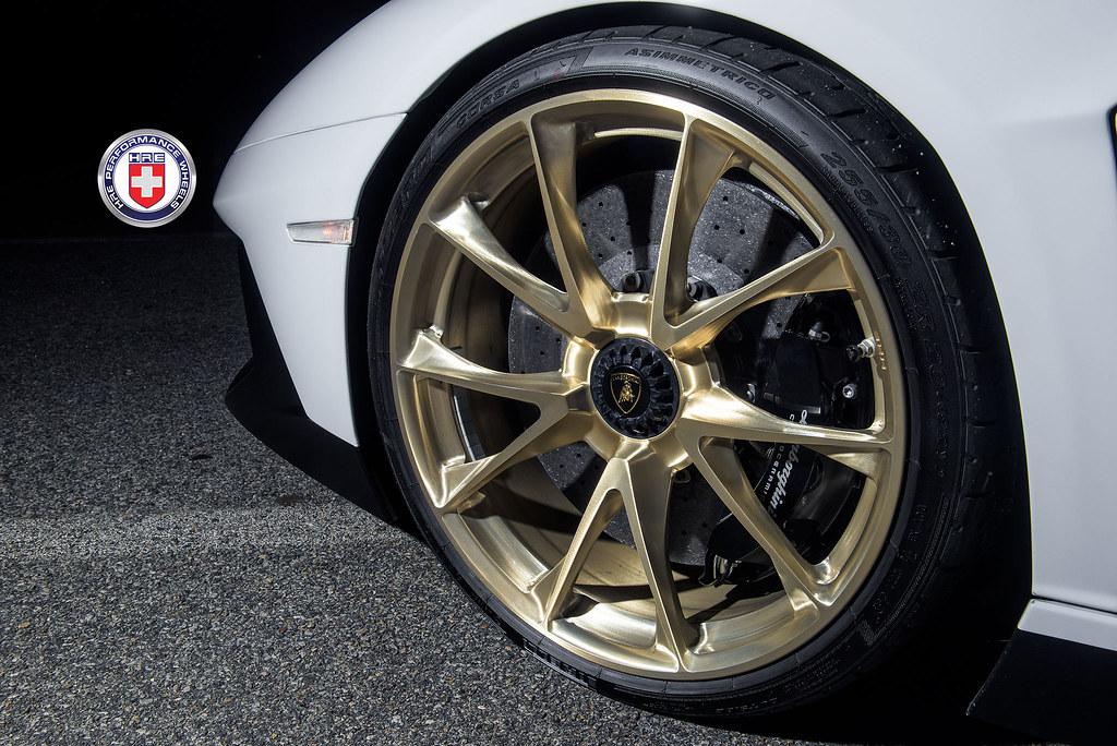 Hre Wheels Lamborghini Aventador Sv With Hre P204 Wheels