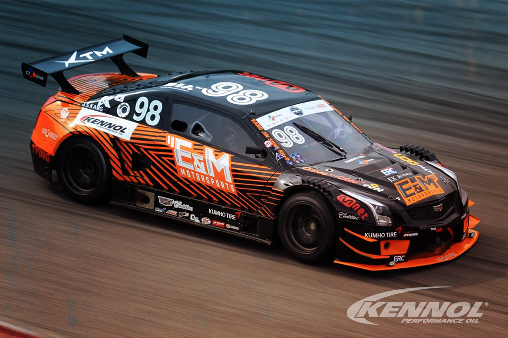 KENNOL motor and transmission oils do good in the heat of the South Korean Championship.