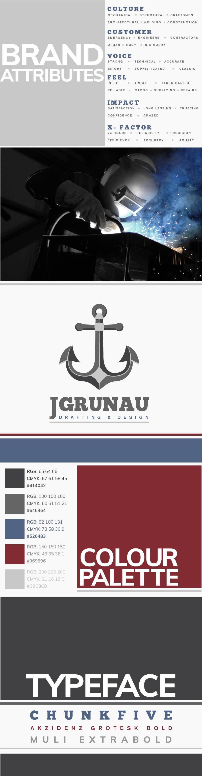JGrunau Logo- Carolina Arai UI Design