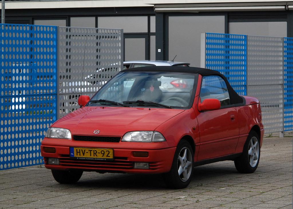 1994 suzuki swift cabrio 1 3 place rosmalen rutger. Black Bedroom Furniture Sets. Home Design Ideas
