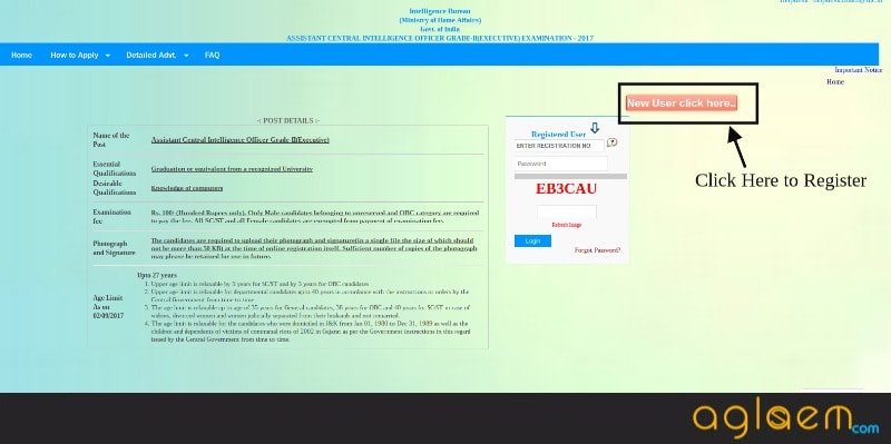 IB ACIO Application Form 2017 Available Again, Apply Online Now
