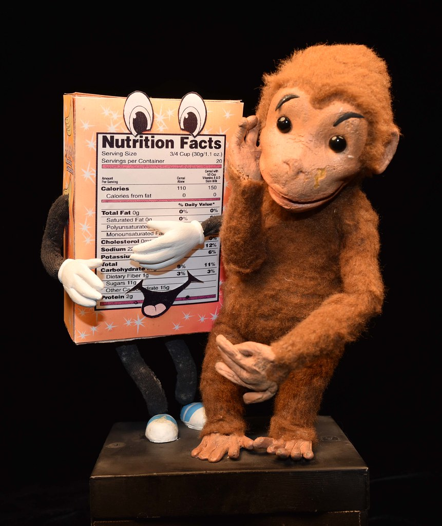 Curious George Promotes Nutrition Information