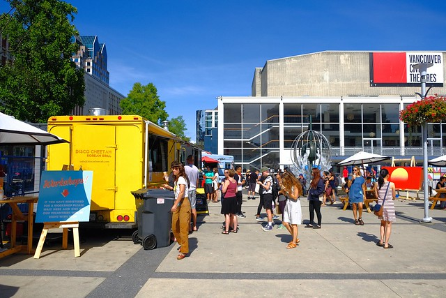 Watch & Learn Etsy Vancouver Market | Queen Elizabeth Theatre Plaza