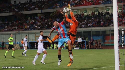 Catania-Racing Fondi 1-1: L'elefante sbatte sul muro Elezaj$