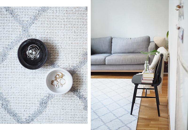 Adora Harlem valkoinen matto