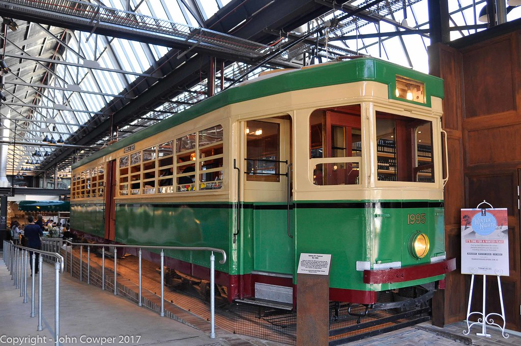 Sydney Tram R1 1995 Preserved At Tramsheds 2 R1 1995