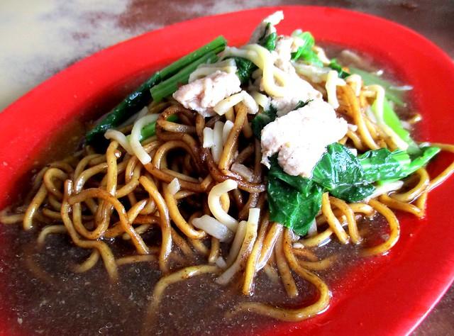 Foochow fried noodles, Selangau, 2