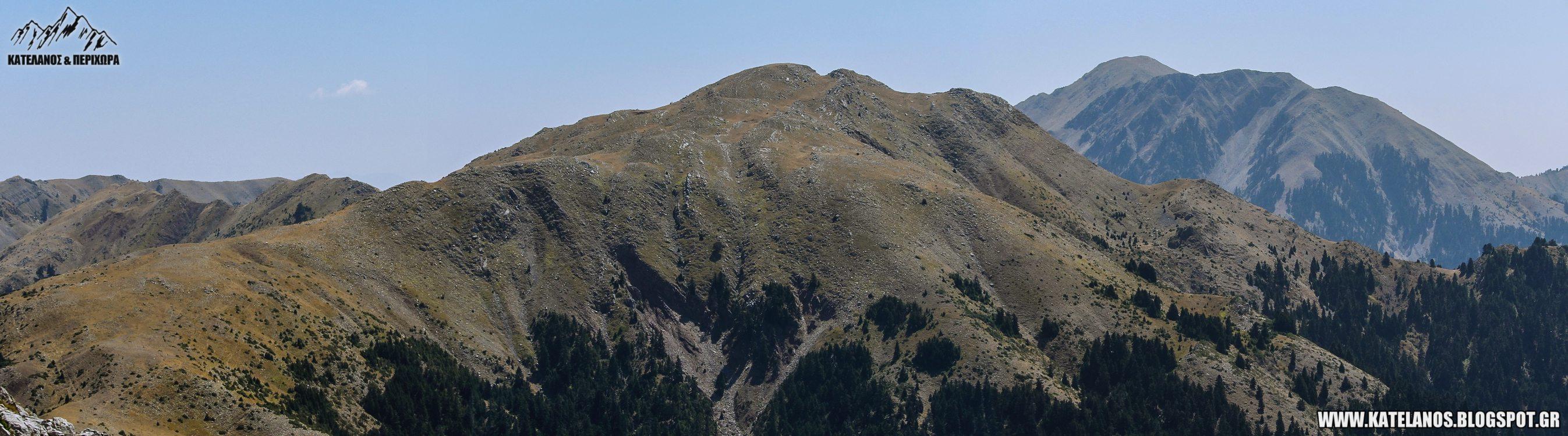 summit katavothra mount panaitoliko katelanos καταβοθρα παναιτωλικου