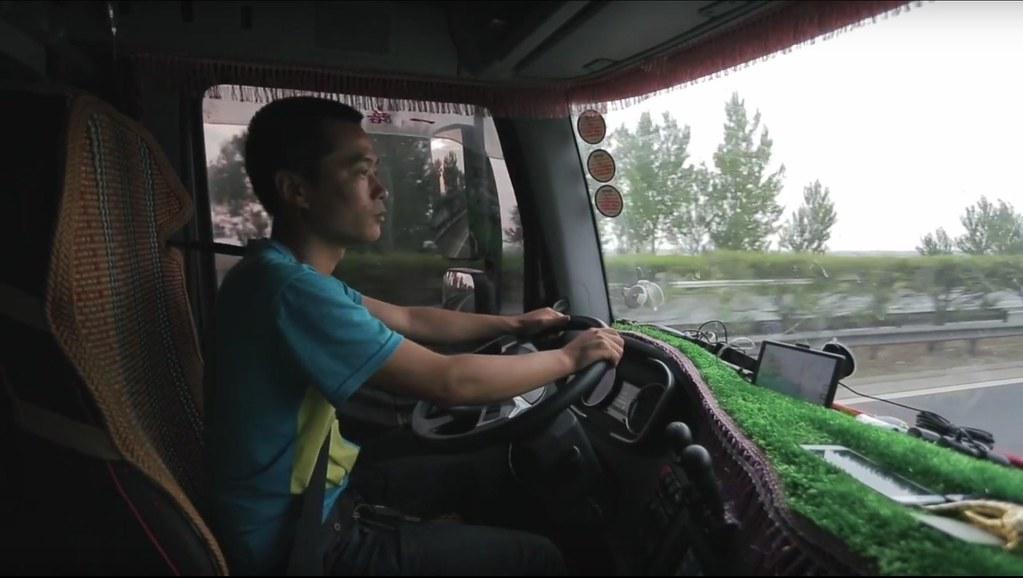 貨車司機正在進行節能駕駛培訓。圖片來源:亞洲清潔空氣中心。