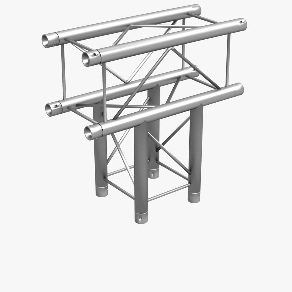 trusses square triangular beam bundle format s 3dsmax c4 flickr Metal Beam Guard Fence trusses square triangular beam bundle by akerdesign