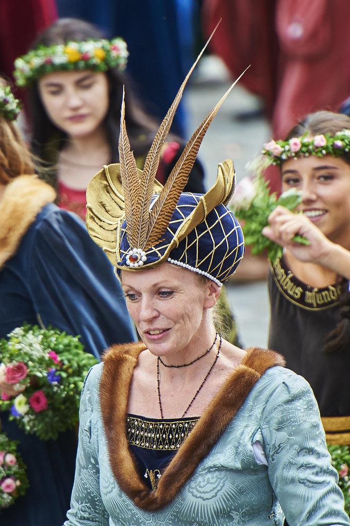 Landshuter Hochzeit 2017 Adelige Dame 1 Noble Lady From Flickr