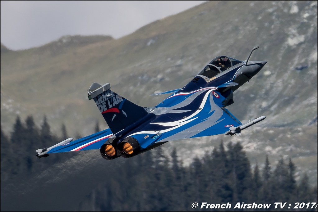 Rafale Solo Display , Dassault Rafale , Armée de l'air , Coupe du Monde Saut à Ski – Courchevel, worldcupcourchevel 2017, FIS, show aerien , Meeting Aerien 2017