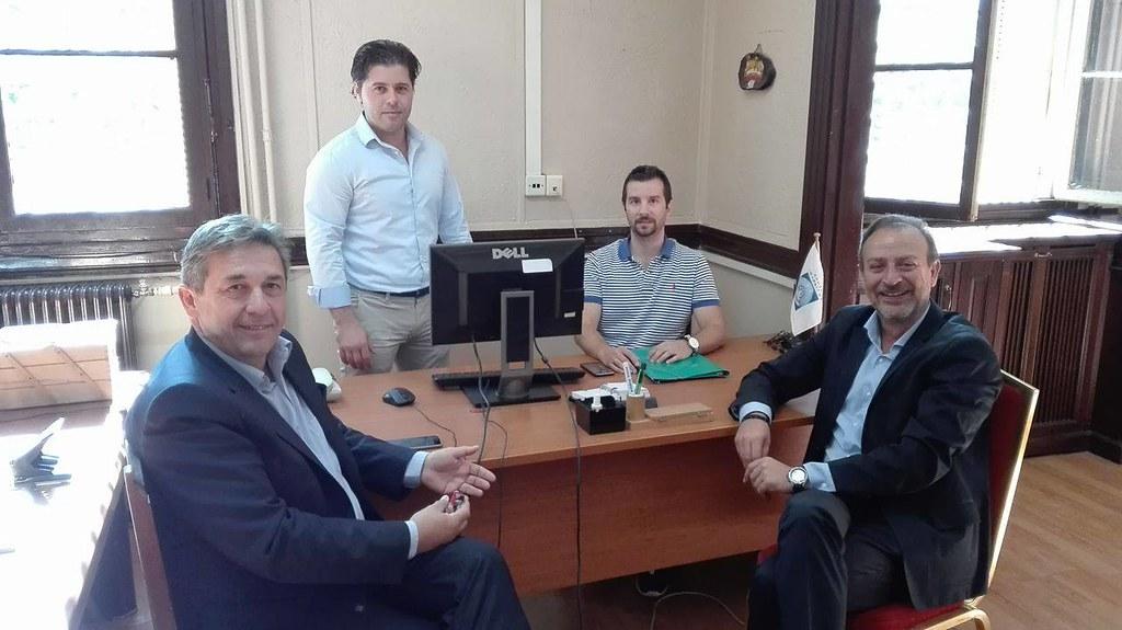 Επίσκεψη Γ. Στέφου στο Κέντρο Ενημέρωσης Υποστήριξης Δανειοληπτών