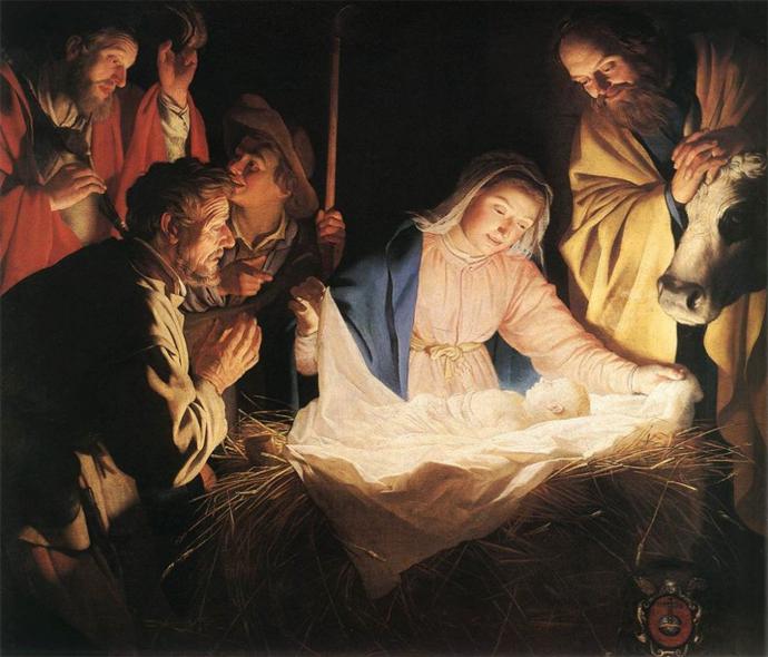 Natividad (1622), Gerard Von Horthorst.