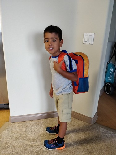 Kindergarten First Day of School Throwback Pictures