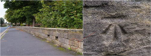 CUT BENCH MARK - STONEGATE ROAD | by I.K.Brunel
