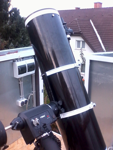 VCSE - A Távvezérelt Csillagvizsgáló fűműszere, a 25 cm-es Newton-távcső