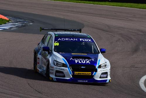 Jason Plato, Subaru Levorg, British Touring Car Championship, Rockingham 2017