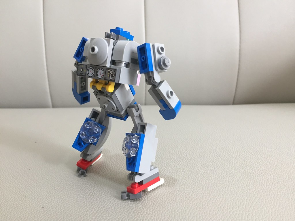lego moc recycling fighting mech real steel mc tung flickr