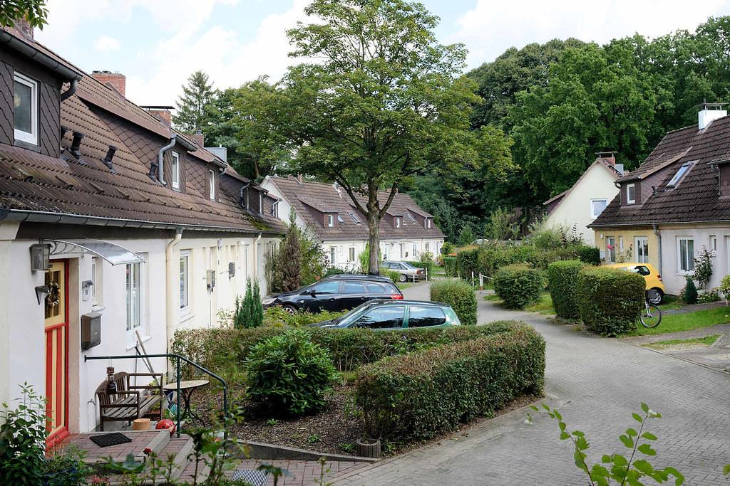 0494 Reihenhaussiedlung In Hamburg Lokstedt Hagendeel