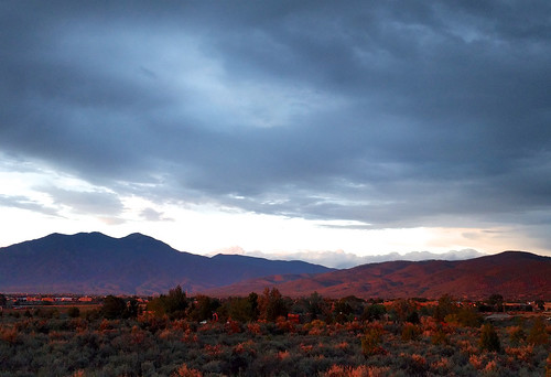 Taos in the Fading Sunlight | by fairangels