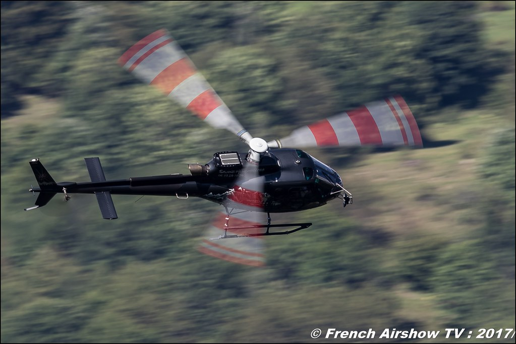 AS-350 B3e - F-HDIO Savoie Hélicoptères , Coupe du Monde Saut à Ski – Courchevel, worldcupcourchevel 2017, FIS, show aerien , Meeting Aerien 2017