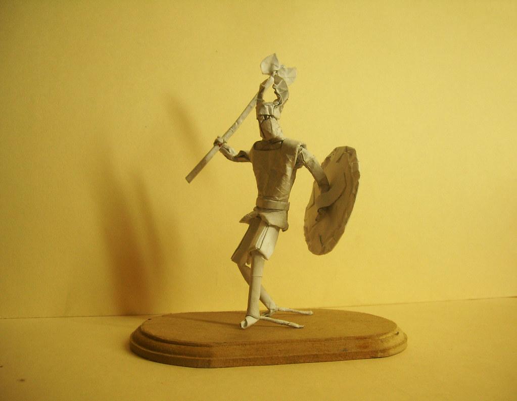 Norse Warrior Origami