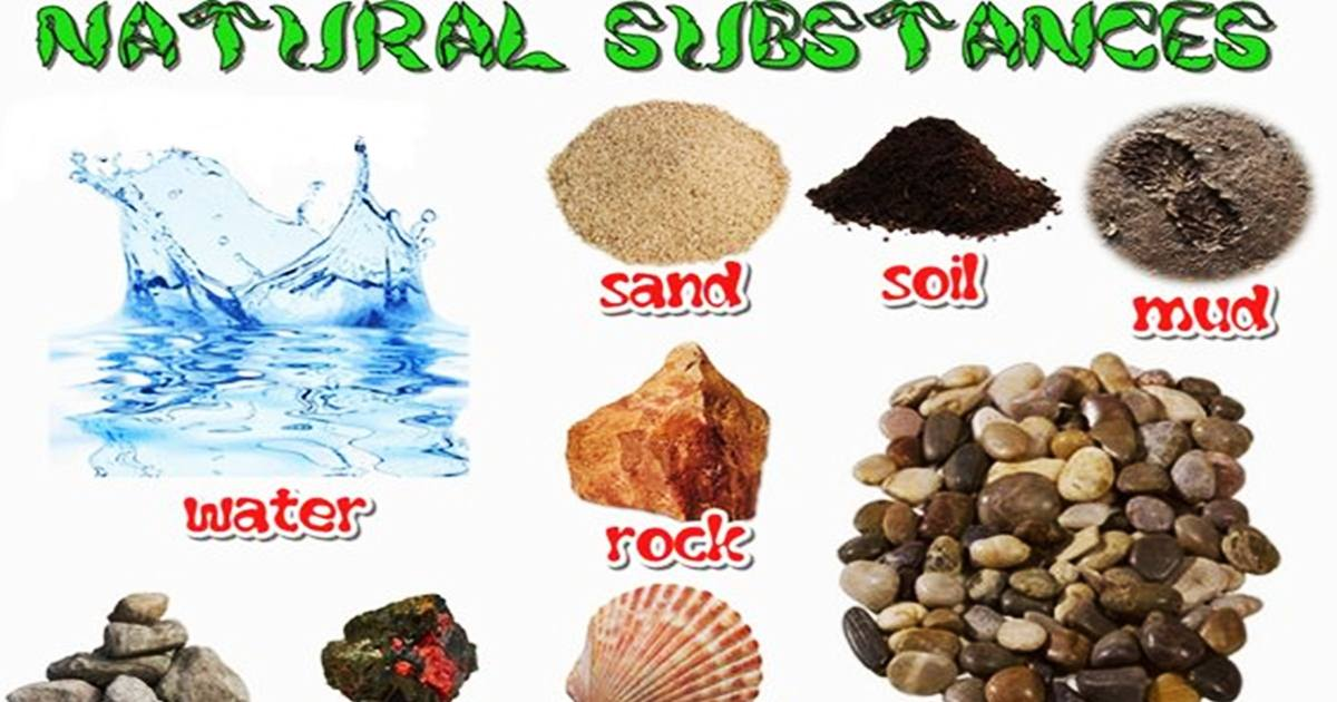 Vocabulary: NATURAL SUBSTANCES 5