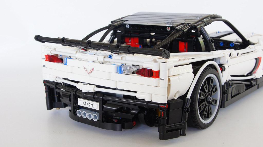 rc chevrolet corvette z06 moc lego technic and model. Black Bedroom Furniture Sets. Home Design Ideas