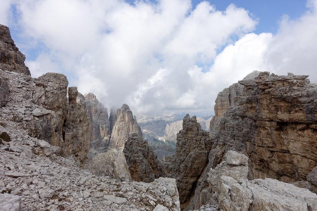 Vallon Klettersteig : Blick vom vallon klettersteig wir sind über den kleu flickr
