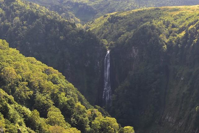 立山弥陀ヶ原の不動滝