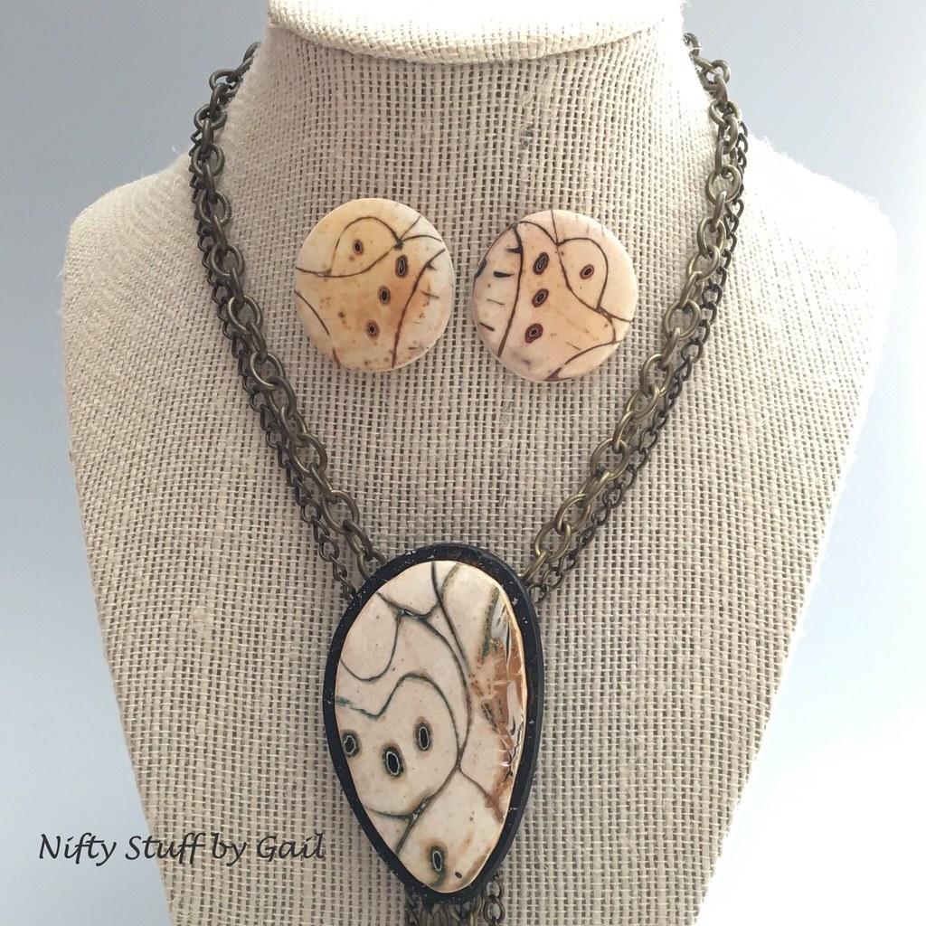 Mokume gane pendants and earrings gail garbe flickr mokume gane pendants and earrings by nifty stuff by gail aloadofball Gallery