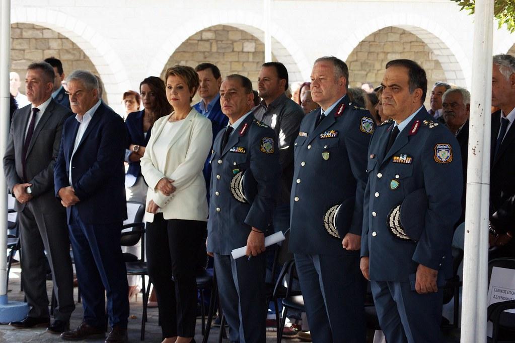 Τελέστηκαν τα εγκαίνια του νέου Αστυνομικού Τμήματος Γεωργίου Καραϊσκάκη από τους υπουργούς Τόσκα - Γεροβασίλη