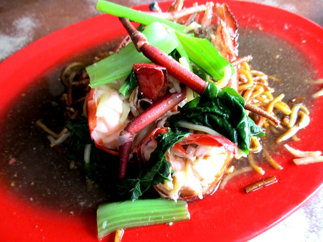 Hua Kee Cafe Foochow fried nooldes, with prawn 1