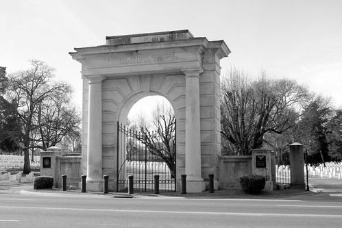 Nashville National Cemetery entrance archway | by SeeMidTN.com (aka Brent)
