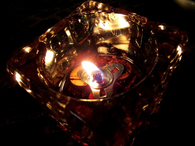 Payung by candlelight