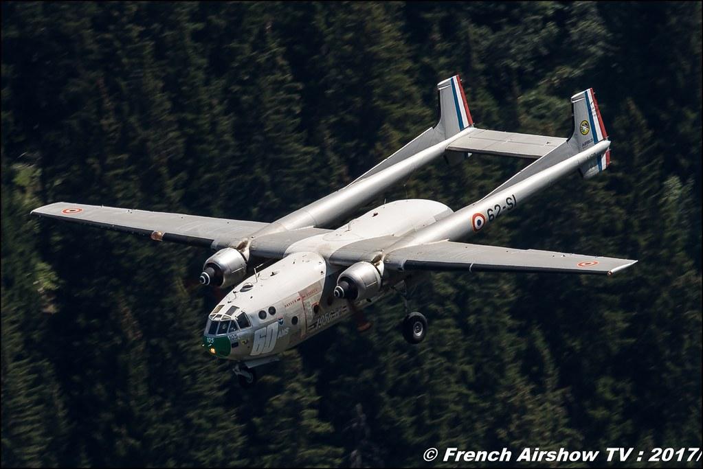 Nord N-2501 Noratlas - F-AZVM , 62-SI, Association Le Noratlas de Provence 50ans d'Aviation Megeve 2017 - altiport de Megève , Haute-Savoie, Auvergne-Rhône-Alpes , Meeting Aerien 2017